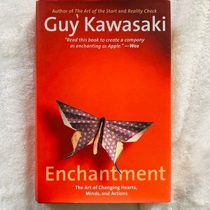 Enchantment by Guy Kawasaki like-new condition